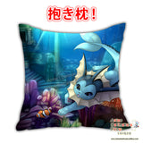 New Vaporeon Swim - Pokemon Anime Dakimakura Japanese Square Pillow Cover Custom Designer Fox Mewmew ADC677 - Anime Dakimakura Pillow Shop | Fast, Free Shipping, Dakimakura Pillow & Cover shop, pillow For sale, Dakimakura Japan Store, Buy Custom Hugging Pillow Cover - 1