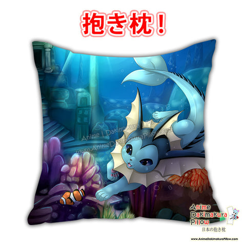 New Vaporeon Swim Pokemon Anime Dakimakura Japanese Pillow Cover Custom Designer Wolfymewmew ADC640 - Anime Dakimakura Pillow Shop | Fast, Free Shipping, Dakimakura Pillow & Cover shop, pillow For sale, Dakimakura Japan Store, Buy Custom Hugging Pillow Cover - 1
