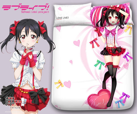 New Yazawa Nico - Love Live Japanese Anime Bed Blanket or Duvet Cover with Pillow Covers Blanket 1 - Anime Dakimakura Pillow Shop | Fast, Free Shipping, Dakimakura Pillow & Cover shop, pillow For sale, Dakimakura Japan Store, Buy Custom Hugging Pillow Cover - 1