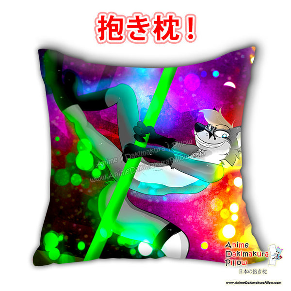 New YCHH Pol dancer Anime Dakimakura Japanese Square Pillow Cover Custom Designer Carina Knutson - 3 ADC668