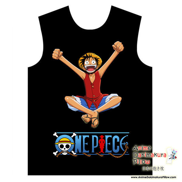 New Luffy - One Piece Special Anime Print Sleeveless Summer Shirt MGF-YF087