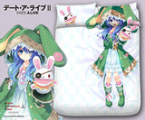 New Yoshino - Date a Live Japanese Anime Bed Blanket or Duvet Cover with Pillow Covers Blanket 13 - Anime Dakimakura Pillow Shop | Fast, Free Shipping, Dakimakura Pillow & Cover shop, pillow For sale, Dakimakura Japan Store, Buy Custom Hugging Pillow Cover - 1