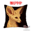 New Fennec Fox Anime Dakimakura Square Japanese Pillow Cover Custom Designer Ykoriana ADC387 - Anime Dakimakura Pillow Shop | Fast, Free Shipping, Dakimakura Pillow & Cover shop, pillow For sale, Dakimakura Japan Store, Buy Custom Hugging Pillow Cover - 1