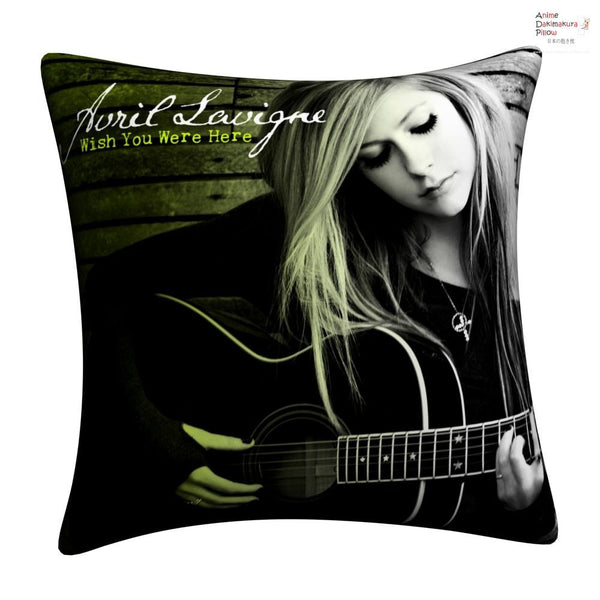 New Avril Lavigne Throw Pillow cushion pillowcases cover1