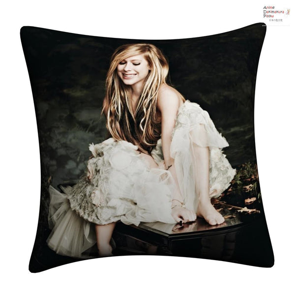 New Avril Lavigne Throw Pillow cushion pillowcases cover8