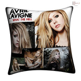 New Avril Lavigne Throw Pillow cushion pillowcases cover9 - Anime Dakimakura Pillow Shop | Fast, Free Shipping, Dakimakura Pillow & Cover shop, pillow For sale, Dakimakura Japan Store, Buy Custom Hugging Pillow Cover - 1