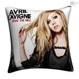New Avril Lavigne Throw Pillow cushion pillowcases cover11 - Anime Dakimakura Pillow Shop | Fast, Free Shipping, Dakimakura Pillow & Cover shop, pillow For sale, Dakimakura Japan Store, Buy Custom Hugging Pillow Cover - 1