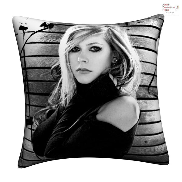 New Avril Lavigne Throw Pillow cushion pillowcases cover12 - Anime Dakimakura Pillow Shop | Fast, Free Shipping, Dakimakura Pillow & Cover shop, pillow For sale, Dakimakura Japan Store, Buy Custom Hugging Pillow Cover - 1