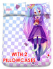 New Shiro - No Game No Life Japanese Anime Bed Blanket or Duvet Cover with Pillow Covers Blanket 1 - Anime Dakimakura Pillow Shop | Fast, Free Shipping, Dakimakura Pillow & Cover shop, pillow For sale, Dakimakura Japan Store, Buy Custom Hugging Pillow Cover - 6