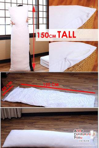 New Super Comfort & Deluxe Grand Siberian Inner Pillow - Dakimakura 150 x 50cm (59in x 19.6in) / 160 x 50cm (63in x 19.6in) - Anime Dakimakura Pillow Shop | Fast, Free Shipping, Dakimakura Pillow & Cover shop, pillow For sale, Dakimakura Japan Store, Buy Custom Hugging Pillow Cover - 1