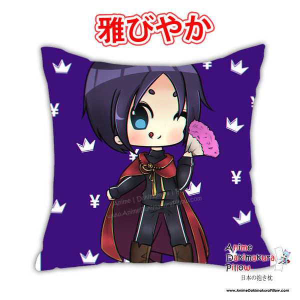 New Noragami Anime Dakimakura Japanese Square Pillow Cover Custom Designer Niadesune ADC334