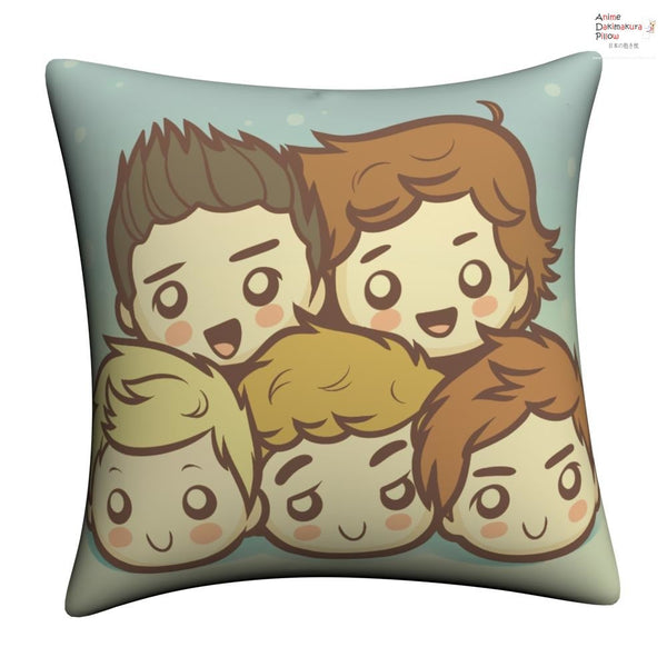 New One Direction Throw Pillow Case cushion pillowcase cover1 - Anime Dakimakura Pillow Shop | Fast, Free Shipping, Dakimakura Pillow & Cover shop, pillow For sale, Dakimakura Japan Store, Buy Custom Hugging Pillow Cover - 1