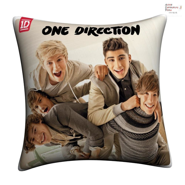 New One Direction Throw Pillow Case cushion pillowcase cover3