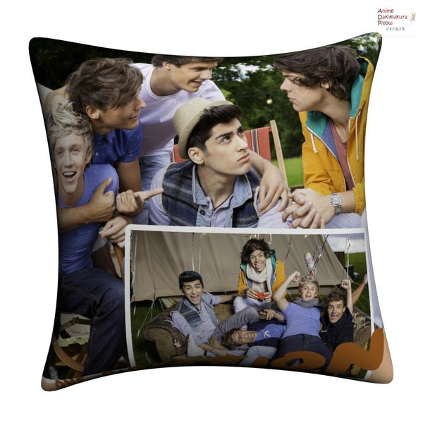 New One Direction Throw Pillow Case cushion pillowcase cover4 - Anime Dakimakura Pillow Shop | Fast, Free Shipping, Dakimakura Pillow & Cover shop, pillow For sale, Dakimakura Japan Store, Buy Custom Hugging Pillow Cover - 1