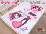 New Yatogami Tohka - Date a Live Japanese Anime Bed Blanket or Duvet Cover GZFONG392 - Anime Dakimakura Pillow Shop | Fast, Free Shipping, Dakimakura Pillow & Cover shop, pillow For sale, Dakimakura Japan Store, Buy Custom Hugging Pillow Cover - 2