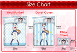 New Rem - Re Zero Japanese Anime Bed Blanket or Duvet Cover with Pillow Covers ADP-CP160601 - Anime Dakimakura Pillow Shop | Fast, Free Shipping, Dakimakura Pillow & Cover shop, pillow For sale, Dakimakura Japan Store, Buy Custom Hugging Pillow Cover - 9