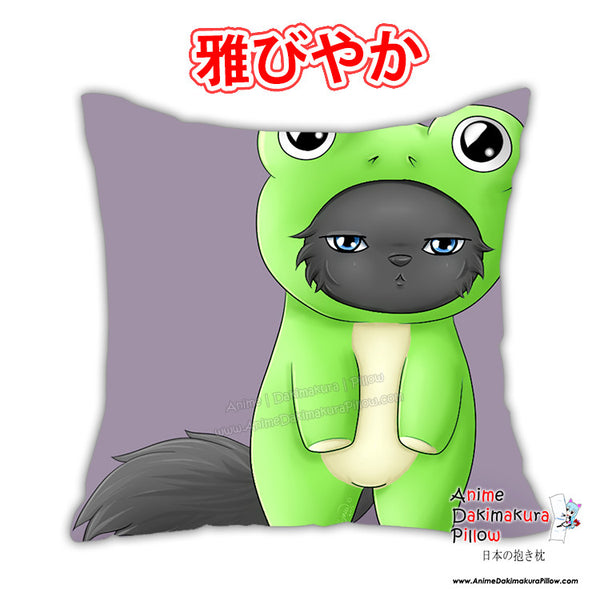 New Wolfy Frog Suit Anime Dakimakura Japanese Pillow Cover Custom Designer Wolfymewmew ADC335