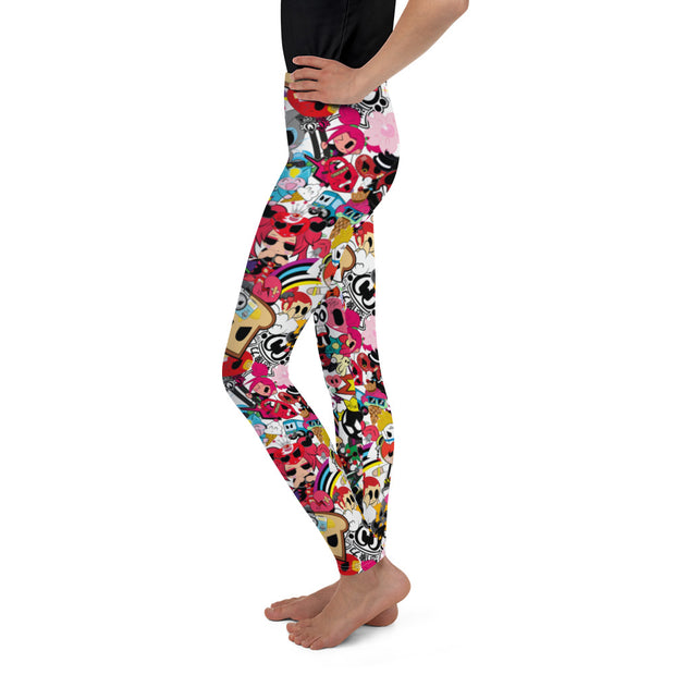 Character Splash Leggings-Teen