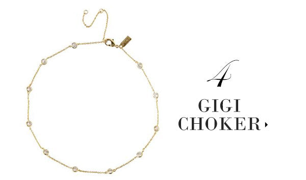 olive + piper Gigi Delicate Choker Necklace