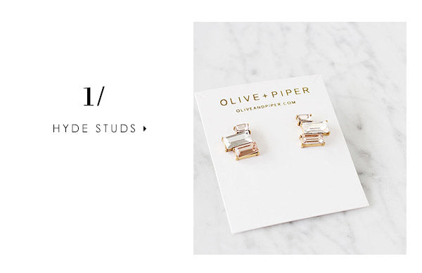 5 stud earrings you can wear every day: Hyde Studs