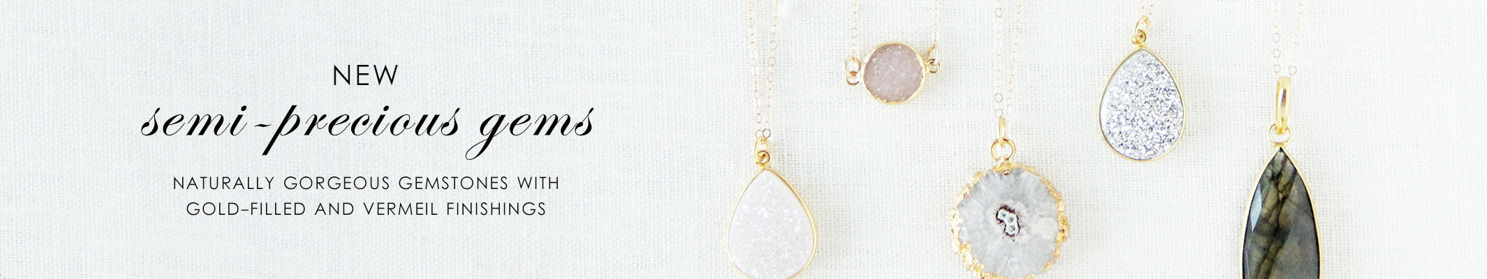 olive + piper Semi-Precious Jewelry
