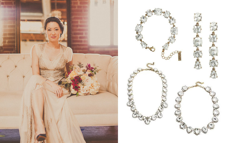 Great Gatsby Style Wedding Jewelry