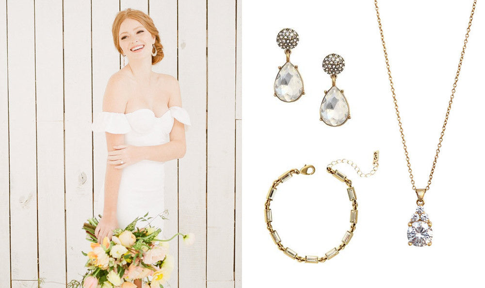 Wedding Jewelry for Rustic Brides