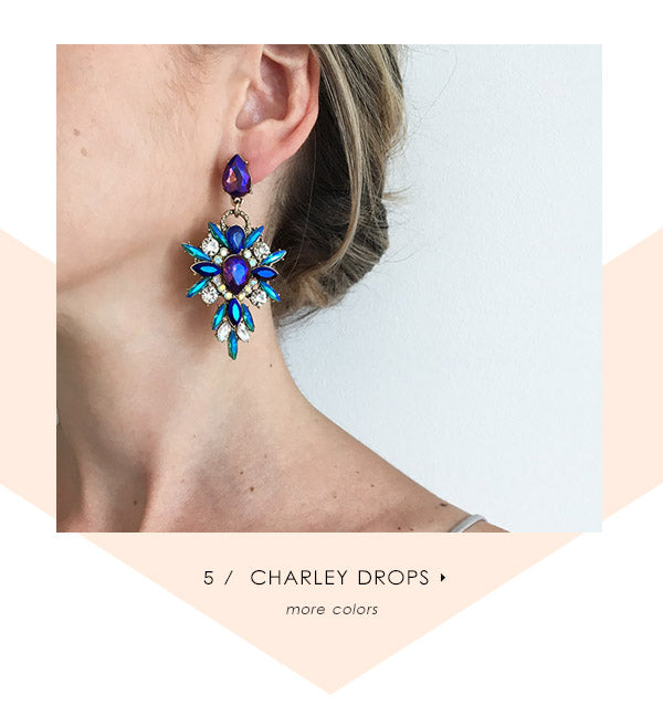 olive + piper Charley Statement Earrings
