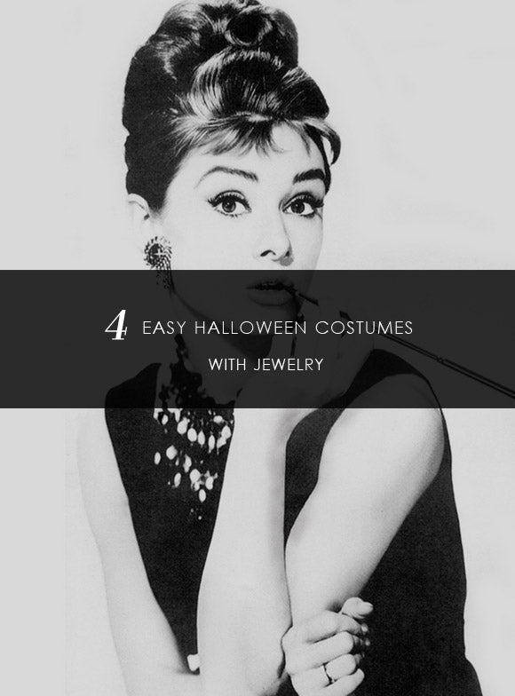 4 EASY HALLOWEEN COSTUMES WITH JEWELRY