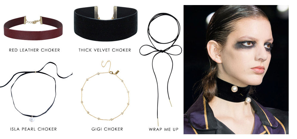 5 fall trends to try right now: Chokers | olive + piper