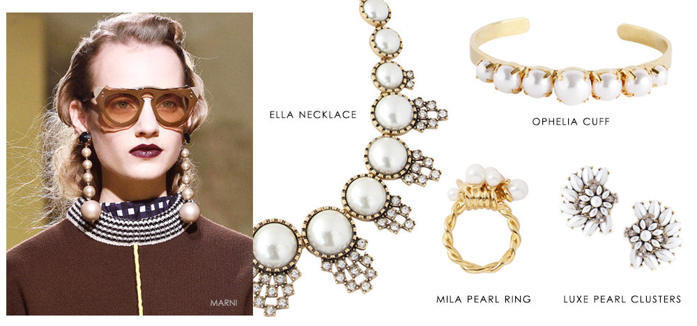 5 fall trends to try right now: Pearls | olive + piper