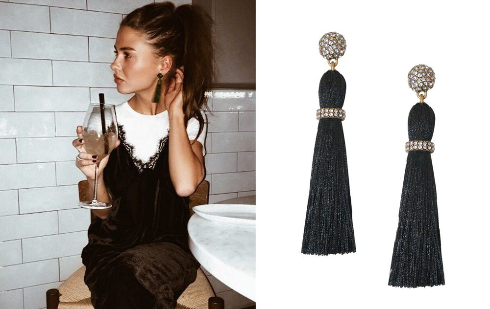 5 Ways to Wear Tassel Earrings for Fall: Cool Girl Chic