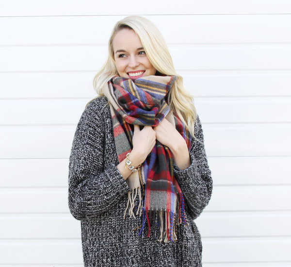 6 Ways to Wear a Scarf | olive + piper