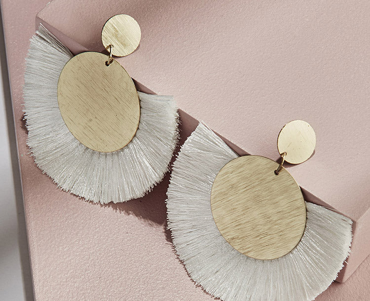 olive + piper Tropez Fringe Earrings
