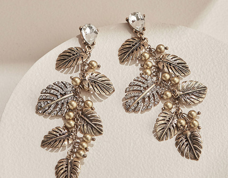 olive + piper In the Tropics Statement Earrings