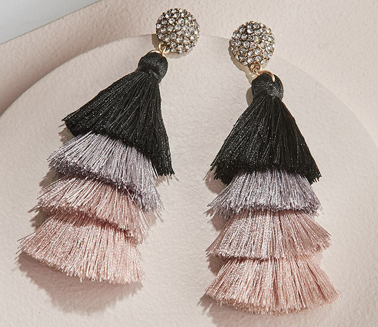 olive + piper Savannah Tassel Earrings