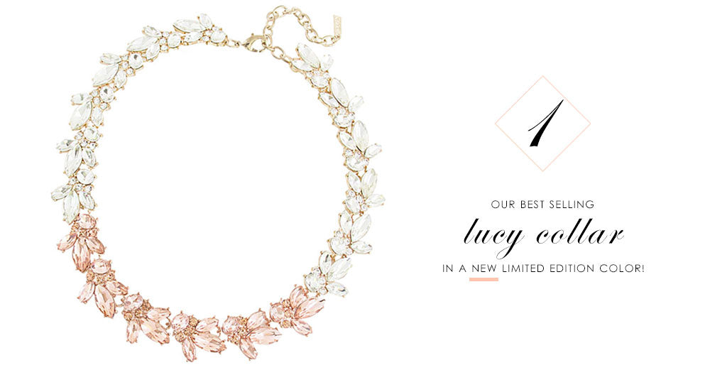 8 Pieces of Jewelry You Need Right Now: Limited Edition Lucy Crystal Collar