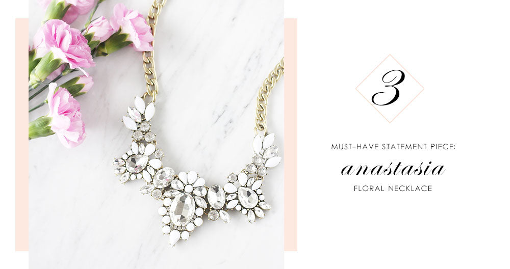8 Pieces of Jewelry You Need Right Now: Anastasia Statement Necklace