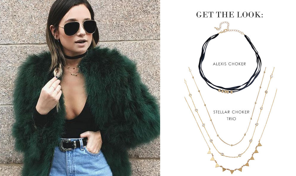 Get the Look: We Wore What | olive + piper Chokers