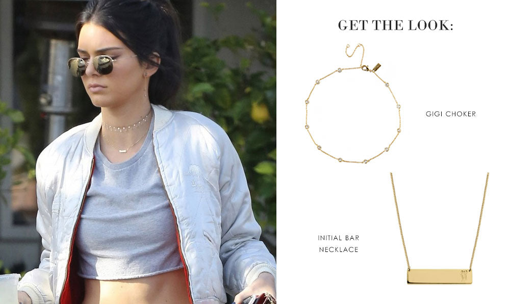 Get the Look: Kendall Jenner | olive + piper Chokers