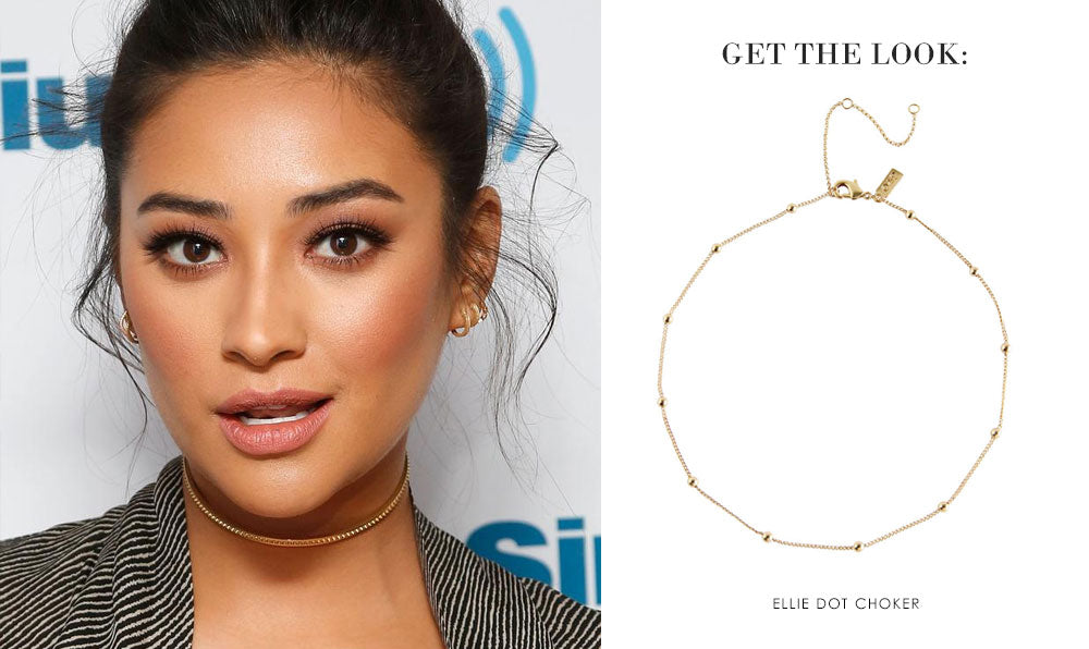 Get the Look: Shay Mitchell | olive + piper Chokers