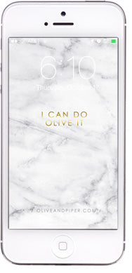 olive + piper Marble Wallpaper for your Phone: I can do olive it