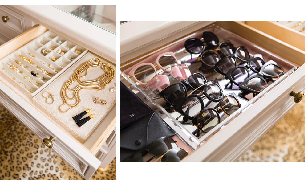 How to Organize Jewelry: Drawer organizers and compartments
