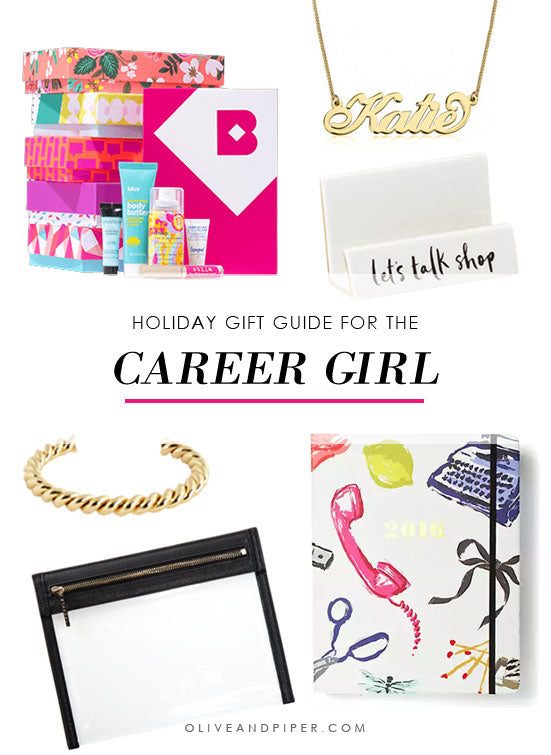 Holiday Gift Guide for the Career Girl