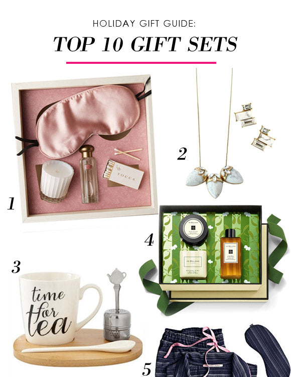 olive + piper Holiday Gift Guide for Her | Top 10 Gift Sets