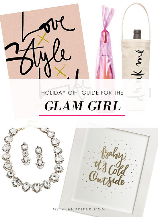 Holiday Gift Guide For the Glamorous Girl