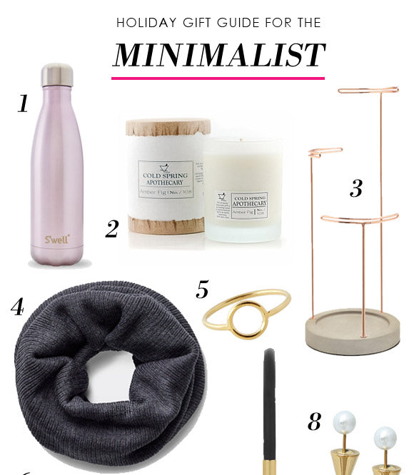 Holiday Gift Guide: For the Minimalist