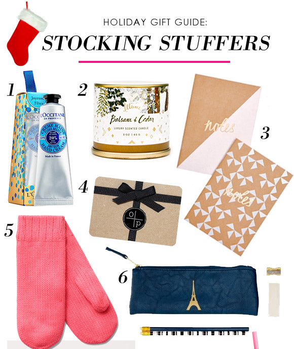 Holiday Gift Guide for Her: Stocking Stuffers 15 under $15