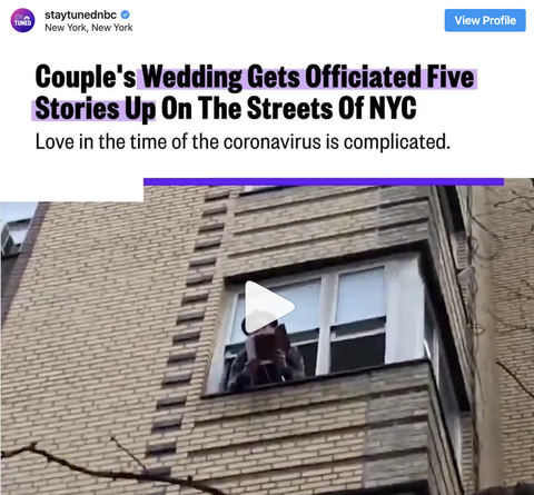 How to have a quarantine wedding during the COVID-19 outbreak