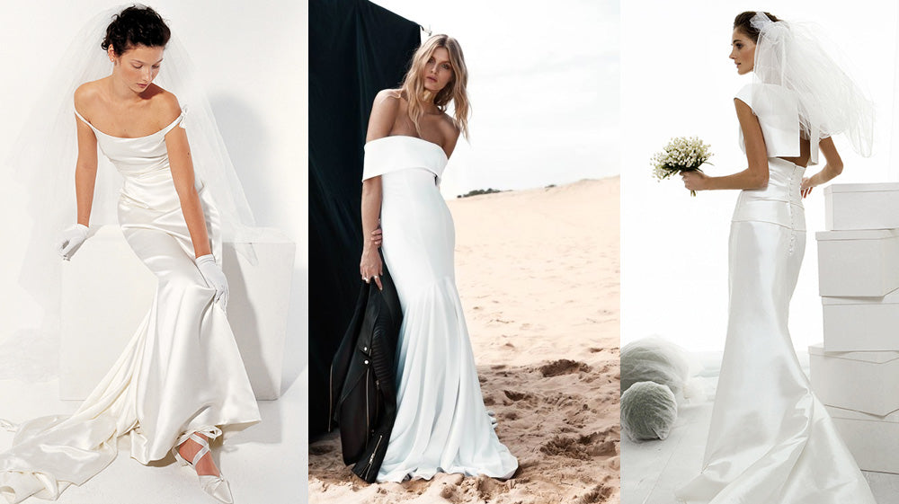 How to Pick the Perfect Wedding Jewelry for your Dress: Pure White Dresses